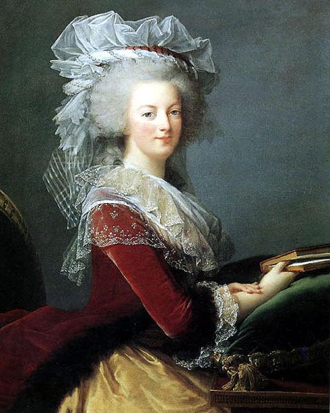 6. Елізабет Віже-Лебрен. Портрет Марії Антуанети, 1785 р., приватна колекція