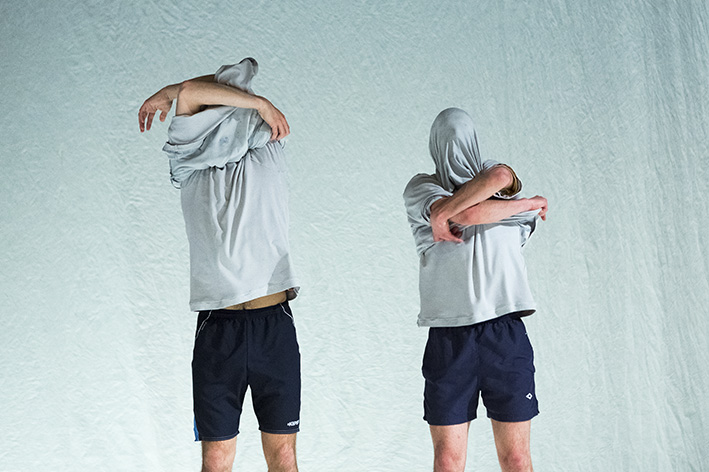 Igor & Moreno perform Idiot Syncrasy at The Place theatre.